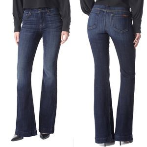 7 FOR ALL MANKIND Tailorless Ginger Flare Jean